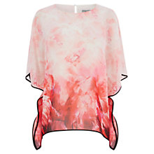 Buy Coast Carolina Rouge Print Top, Multi Online at johnlewis.com