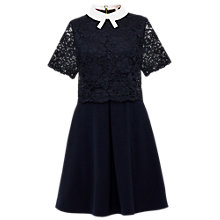 Buy Ted Baker Dixxy Lace Bodice Double Layer Dress Online at johnlewis.com