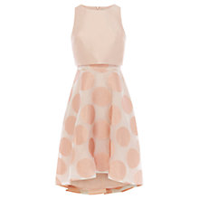 Buy Coast Pernilla Spot Dress, Rose Online at johnlewis.com