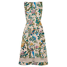 Buy Oasis V&A Midi Dress, Multi Online at johnlewis.com