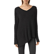 Buy AllSaints Keld V-Neck Jumper Online at johnlewis.com