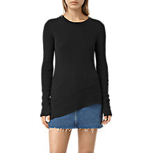 Buy AllSaints Keld Crew Neck Jumper Online at johnlewis.com