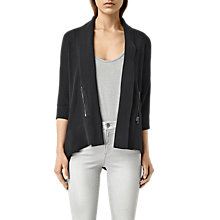 Buy AllSaints Ali Cardigan, Black Online at johnlewis.com