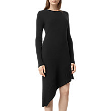 Buy AllSaints Keld Dress, Black Online at johnlewis.com