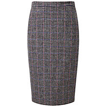 Buy Pure Collection Elian Wool Pencil Skirt, Grey Online at johnlewis.com