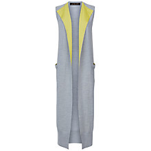 Buy Jaeger Ribbed Longline Gilet Online at johnlewis.com