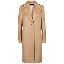 Buy Jaeger Wool Cashmere Crombie Coat, Camel Online at johnlewis.com