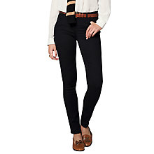 Buy Pure Collection Jazmin Slim Leg Jeans, Black Online at johnlewis.com