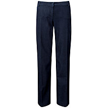 Buy Pure Collection Deborah Wid Leg Jeans, Dark Rinse Online at johnlewis.com