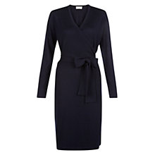 Buy Hobbs Laila Dress, Navy Online at johnlewis.com
