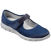 Buy Hotter Hover Mary Jane Trainers, Navy Online at johnlewis.com