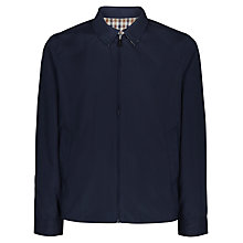 Buy Aquascutum Brackenberry Showerproof Reversible Blouson, Navy Online at johnlewis.com
