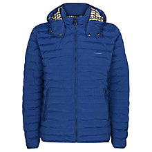 Buy Aquascutum Emmett Showerproof Quilted Jacket, Bright Blue Online at johnlewis.com