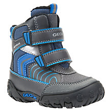 Buy Geox Children's B Gulp Amphibiox Riptape Boots Online at johnlewis.com