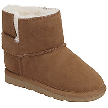 Buy John Lewis Children's Snuggle Bootie Slippers, Natural Online at johnlewis.com