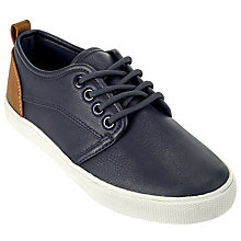 Buy John Lewis Children's Lucy Lace-Up Shoes, Navy Online at johnlewis.com