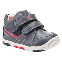 Buy Geox Children's B Balu Double Riptape Shoes, Navy Online at johnlewis.com