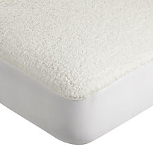 Buy John Lewis Fleece Mattress Enhancer Online at johnlewis.com