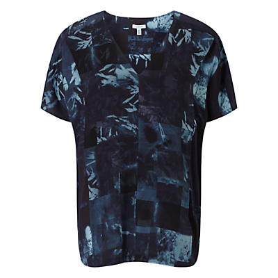 Jigsaw x Antonio Curcetti Double Layer Top, Dark Blue
