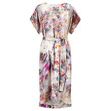 Buy Jigsaw Rainburst Kimono Dress, Multi Online at johnlewis.com