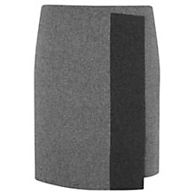 Buy Mint Velvet Flannel Skirt, Grey Online at johnlewis.com