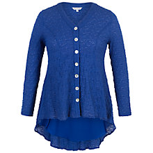 Buy Chesca Chiffon Trim Bubble Blouse Online at johnlewis.com