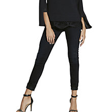 Buy Mint Velvet Arizona Skinny Jeans, Black Online at johnlewis.com