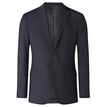 Buy Jigsaw Italian Wool Mohair Slim Fit Suit Jacket, Midnight Online at johnlewis.com