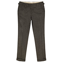 Buy Jigsaw Mouline Houndstooth Trouser, Grey Online at johnlewis.com