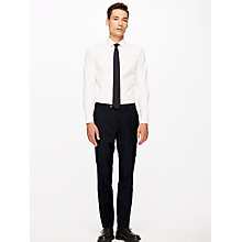 Buy Jigsaw Italian Wool Mohair Slim Fit Suit Trousers, Midnight Online at johnlewis.com