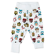 Buy Polarn O. Pyret Baby Animal Faces Trousers Online at johnlewis.com