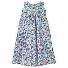 Buy Frugi Organic Girls' Tabitha Trapeze Floral Dress, Multi Online at johnlewis.com