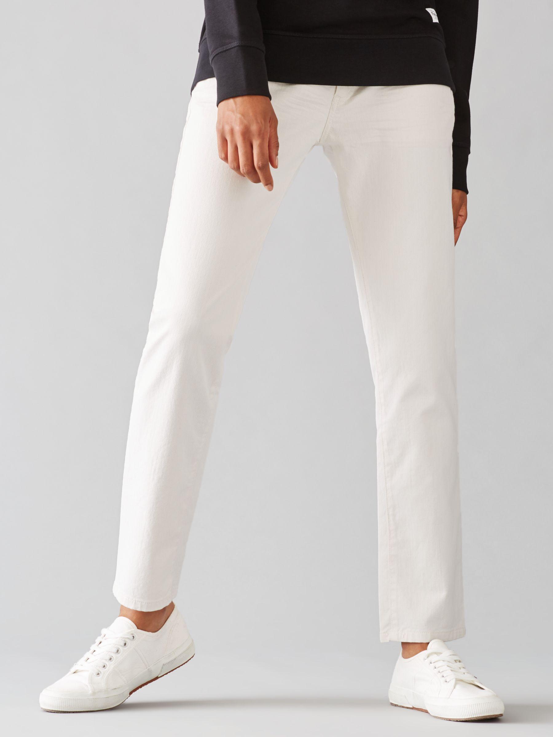 Harris wilson Harris Wilson Vodia Boyfriend Jeans, Ecru