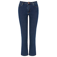 Buy Warehouse Straight Cut Jeans, Mid Wash Denim Online at johnlewis.com