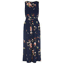 Buy Warehouse Painted Floral Jumpsuit, Multi Online at johnlewis.com