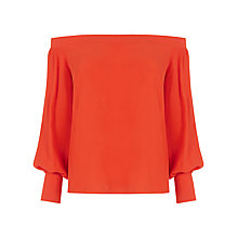 Buy Warehouse Off The Shoulder Top Online at johnlewis.com