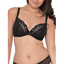 Buy Curvy Kate Princess Plunge Bra, Black Online at johnlewis.com