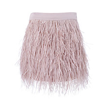 Buy ST Studio Mini Feather Skirt, Pink Online at johnlewis.com