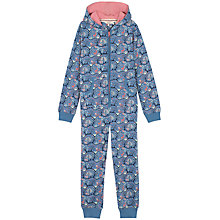 Buy Fat Face Children's Woodland Onesie, Ocean Online at johnlewis.com