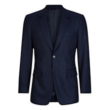 Buy Aquascutum Nathanial Cashmere-Blend Classic Fit Blazer, Navy Online at johnlewis.com