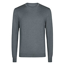 Buy Aquascutum Rolfe Crew Jumper, Grey Online at johnlewis.com