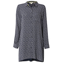 Buy White Stuff Ferncone Shirt Tunic, Mountain Blue Online at johnlewis.com