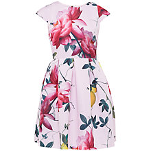 Buy Ted Baker Tillea Citrus Bloom Dress, Pink Online at johnlewis.com