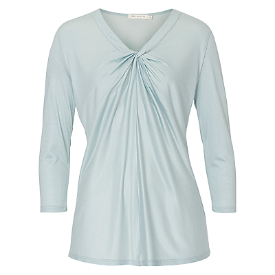 Betty & Co. 3/4 Sleeve Top, Cloud Green