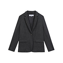 Buy Gerard Darel Harlow Jacket, Grey Online at johnlewis.com