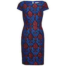 Buy Gina Bacconi Corded Embroidery Lace Shift Dress, Royal Blue Online at johnlewis.com