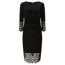 Buy Phase Eight Alfi Lace Dress, Black Online at johnlewis.com