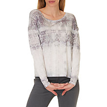 Buy Betty & Co. Printed Top, Taupe/Purple Online at johnlewis.com