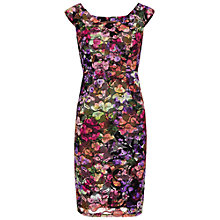 Buy Gina Bacconi Stained Glass Stretch Lace Dress, Multi Online at johnlewis.com