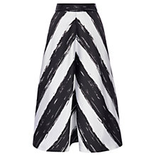 Buy Coast Jola Chevron Stripe Skirt, Mono Online at johnlewis.com